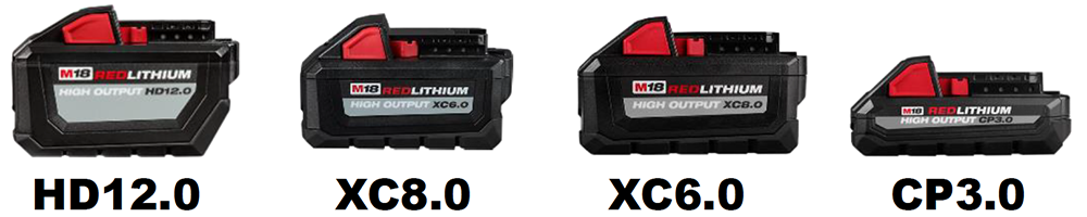 Milwaukee High Output Batteries and Super Charger – Tool